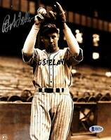Indians Bob Feller Authentic Signed 8x10 Photo Autographed BAS 1