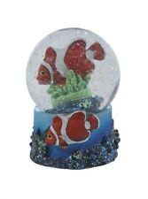 Official Ravensden Snow Globe - 8cm - Nemo Fish - Clown Fish - NEW - Collectable