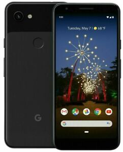 Original Google Pixel 3A 64GB - 4GB Fully Unlocked Any Carrier Smartphone Black