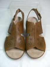 DANSKO Womens SandalsSize 5.5 / 6   Euro 36 Tan Leather Sling Back #B