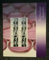 "Stamps ""AUSTRALIAN LEGENDS"" MEDICAL SCIENTISTS Presentation Pack Set"