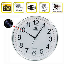 Wifi HD 720P Wireless IP P2P Camera Clock Camera Nanny DVR Digital Video Record