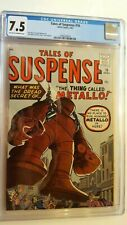 TALES OF SUSPENSE #16 CGC 7.5 AND A STRICT G/VG COPY 4TH IRON MAN PROTOTYPE!!