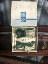 Vintage Gentleman's Traditional Paris Sock Suspenders/Garters Wonderful Gree.
