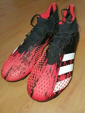 Adidas Predator 20.1 US 8 UK 7 mens SG Football Rugby Boots Black/Red