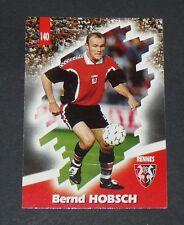 PANINI FOOTBALL CARD 98 1997-1998 BERND HOBSCH STADE RENNAIS RENNES ROAZHON