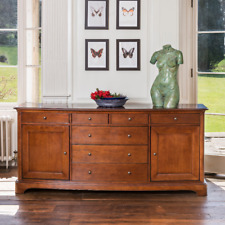 New Large Wide Willis & Gambier Lille Cherry Sideboard *Ex John Lewis*
