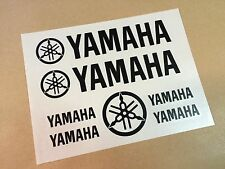 VINILO ADHESIVO PEGATINA STICKER YAMAHA MOTO NEGRO KIT DECAL