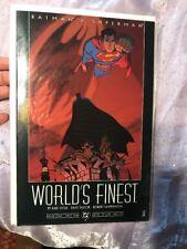 Batman & Superman Worlds Finest Complete Set DC comics