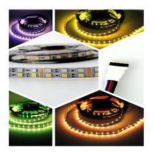 12V 5m RGBWW (RGB+Warmweiß) LED Streifen LED Stripes Strip Lichtleiste SMD 5050