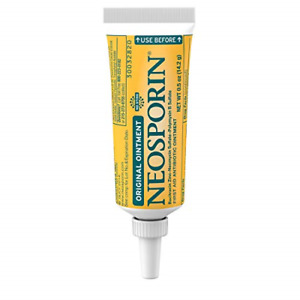Neosporin Original First Aid Antibiotic Ointment with Bacitracin, Zinc for Wound