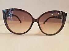 New Swarovski Cat Eye Plastic Sunglasses MOD Deliscious SW59 60mm Made in Italy