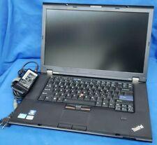 "Lenovo Thinkpad T520 ""15.5 i5-2540M 2.6Ghz 6GB ram 120GB SSD"