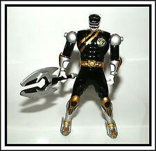 Power Rangers Wildforce _ Spin Morphin' _ Black Ranger / Danny Delgado