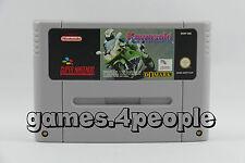 Kawasaki Superbike - Moto Gioco di corsa per Super Nintendo / SNES