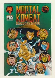 Mortal Kombat Blood & Thunder #3 Malibu Comics MID GRADE