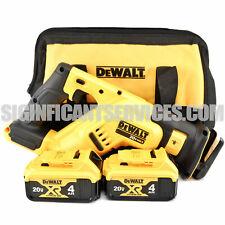 DeWALT DCS367B 20V 20 Volt MAX XR 4.0 Ah Brushless Compact Reciprocating Saw
