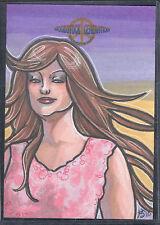 WOODSTOCK GENERATION (Breygent/2010) Art SKETCH CARD by AMBER SHELTON