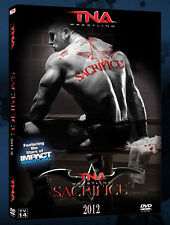 Official TNA Impact Wrestling - Sacrifice 2012 Event DVD