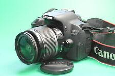 Canon EOS 650D Kit EF-S 18-55mm IS stabilisiert NUR 9.435 Ausl 2J.Gewähr/Händler