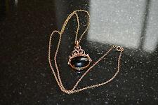 Onyx Rose Gold Fine Necklaces & Pendants