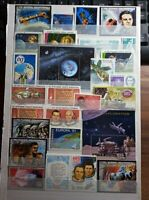 Raumfahrt Weltall Space  Briefmarken Timbres Sellos Stamps