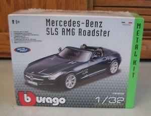 Mercedes Benz SLS AMG Roadster 1:32 Scale Die Cast w Decal NEW SEALED Bburango