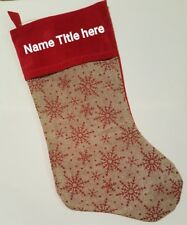 Personalized Christmas Stocking For Sale Ebay