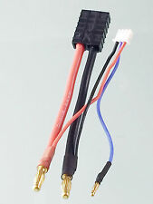 Traxxas TRX Female to 4mm Bullet Banana Lead Wire& JST-XH Balance Plug for LiPo