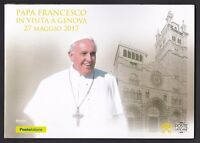 ITALIA Repubblica Folder Papa Francesco in Visita a Genova Anno 2017
