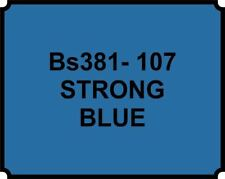 Cellulose Car Body Classic Vintage Paint BS381-107 STRONG BLUE Gloss