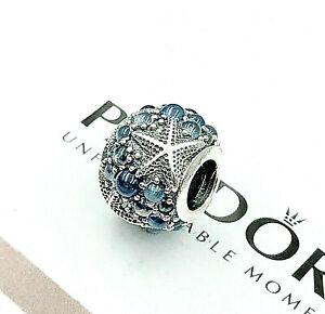 Pandora 925 Silver  ALE Oceanic Starfish Charm 791905CZF