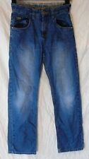 Boys Next Mid Blue Adjustable Waist Relaxed Fit Classic Jeans Age 11 Years