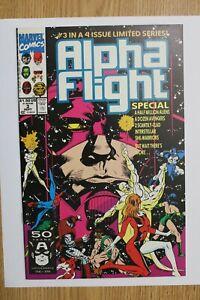 Marvel Alpha Flight Special #3 (Sept,1991) Reprint of Alpha Flight #99