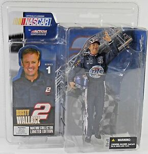 Rusty Wallace 2003 McFarlane Miller Lite Mature Collector Edition Series #1 NEW