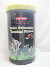 Hatortempt Color-Enhancing Tropical Flakes Fish Food 7.05 oz Sealed