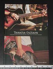 05654 YAMAHA 20011 Guitars and Basses Catalogue from Japan