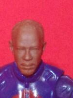 "The walking dead Negan 1:18 Scale 3.75/"" custom gi joe acide rain head"