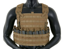 Tactical Rifleman Chestrig - Airsoft / Paintball Vest - Tan