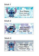 Stitch Address Labels 30 Per Sheet 3 Designs To Choose From Lilo Amp Stitch