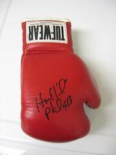 Evander Holyfield Signed TUF-WEAR Boxing Glove !