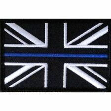 Thin Blue Line Velcro Patch 75mm x 50mm