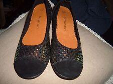 New BM Bernie Mev Bella me Shoes Suede & Survêtement Sparkly escarpins shoes Sz 38 5