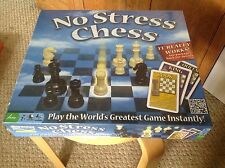 NIB No Stress Chess by Winning Moves Games.  In sealed box.