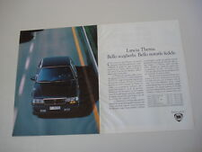advertising Pubblicità 1991 LANCIA THEMA TURBO 16V