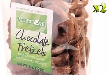 12oz Gourmet Style Bags of Creamy Milk Chocolate Covered Pretzels [3/4 lb.]