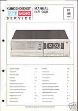 ITT/Graetz Orig. Service Manual für Cassette HiFi 9021