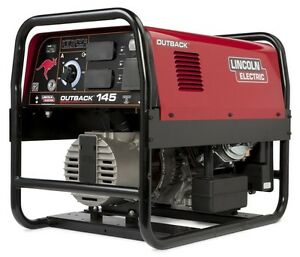 Lincoln Outback 145 Welder Generator New K2707-2