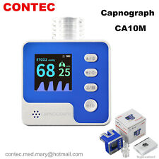 Co2 Mainstream Etco2 Capnograph Respiration Rate End Tidal Co2 Patient Monitor