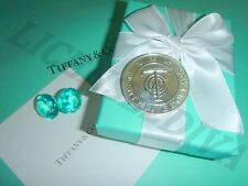 TIFFANY & CO 25 DOLLAR SILVER MERCHANDISE COIN RETIRED STERLING SILVER TCO FINE
